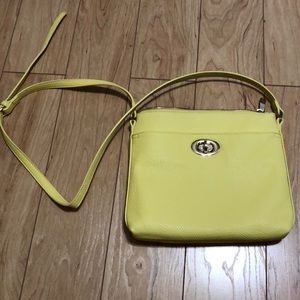 Light yellow crossbody from Charming Charlie's